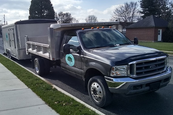 Locust Ridge Landscape Truck & Trailer - Landscaping Services in Chambersburg & Shippensburg, PA