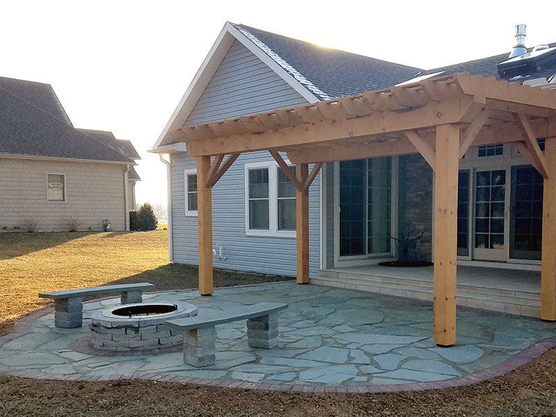 Outdoor Living Spaces, Patios & Pergolas in Chambersburg & Shippensburg, PA