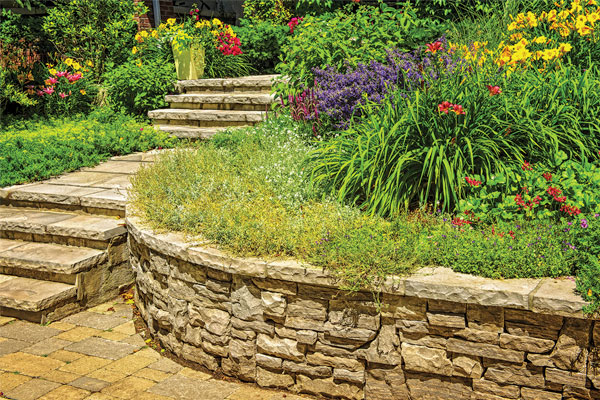 A Lesson in Building a Backyard Retaining Wall